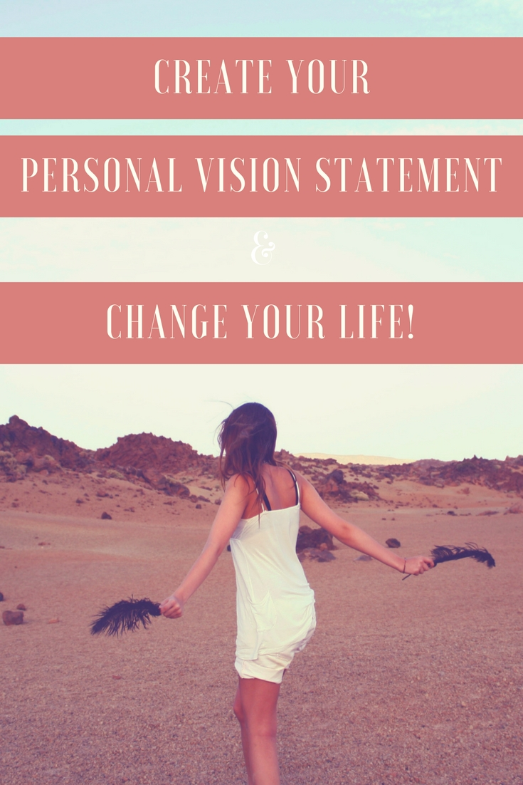 how to write a vision statement for your life